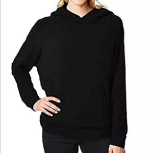 32 Degrees Heat Women's Black Lined Pullover Hoodi